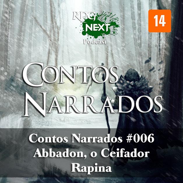CNa#006: Abbadon, o Ceifador – Rapina   Jean Fernandes