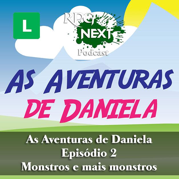 Daniela#2: Monstros e mais monstros   Gabriela Watzl