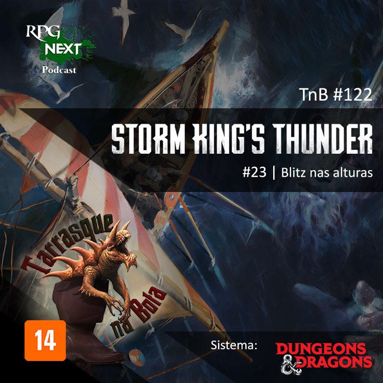 TnB#122: SKT1E23 – Blitz nas alturas | RPG D&D 5e